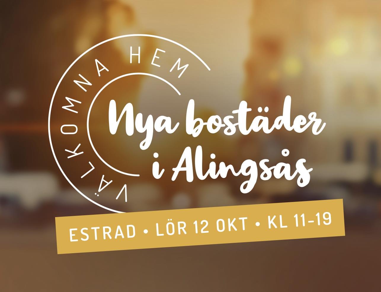 Nya bostäder i Alingsås – Välkomna Hem